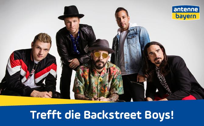 Backstreet's back in Bayern! Trefft die Backstreet Boys mit ANTENNE BAYERN