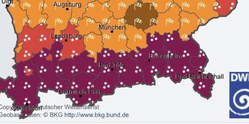 Schneechaos LIVE-TICKER: Alle wichtigen Meldungen und Wetterwarnungen auf einen Blick