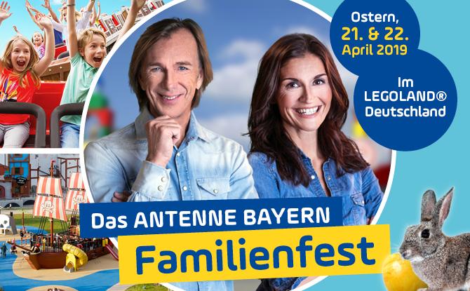 Das ANTENNE BAYERN FAMILIENFEST an Ostern im LEGOLAND® Deutschland in Günzburg