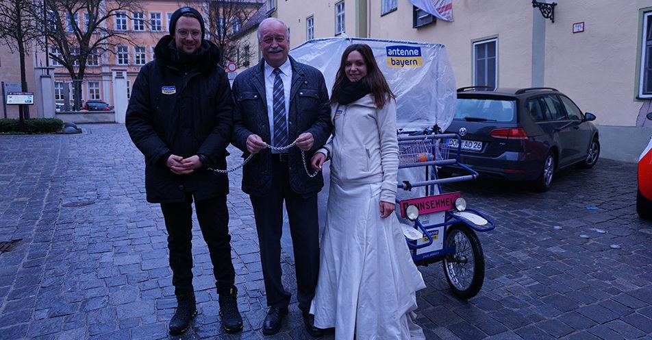 Tag 4: ANTENNE BAYERN-Brautpaar wird vom Landkreis Donau-Ries tatkräftig unterstützt