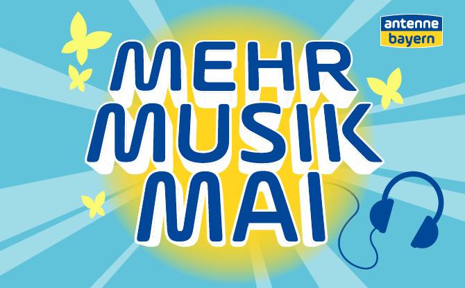 Der Mehr-Musik-Mai auf ANTENNE BAYERN - Votet jetzt für eure Lieblingssongs!