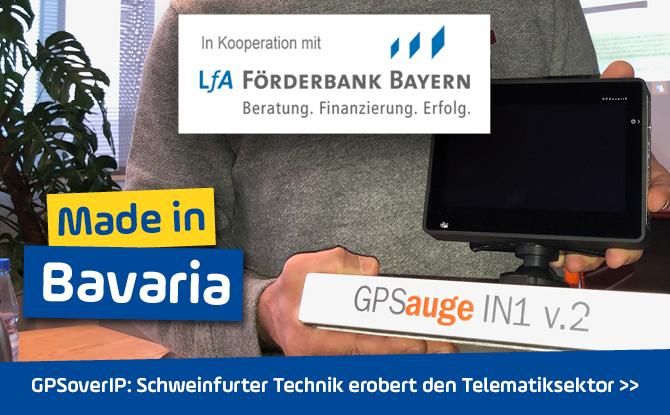 GPSoverIP in Unterfranken: Technik aus Schweinfurt erobert Telematiksektor