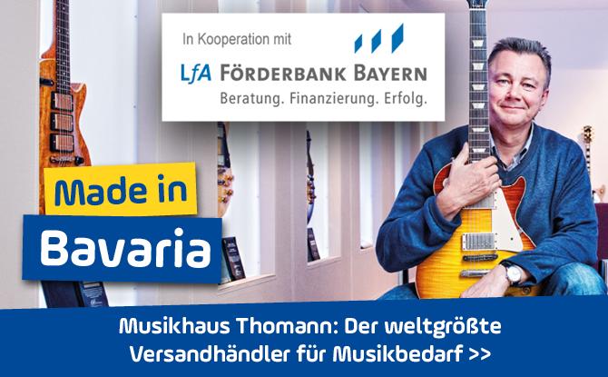 Musikhaus Thomann in Oberfranken: Der weltgrößte Versandhändler für Musikbedarf