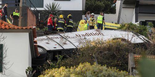 Bus auf Madeira verunglückt: 29 deutsche Touristen sterben