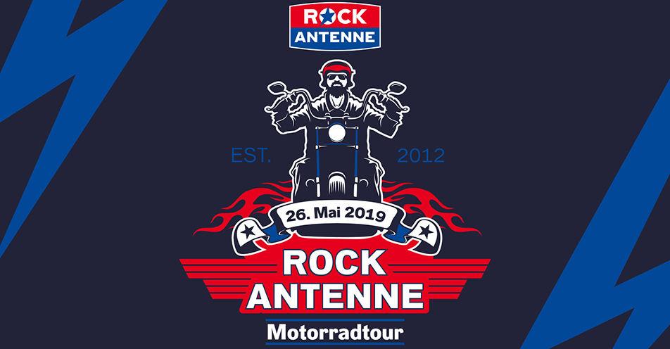 Rock 'n' Roll auf dem Bike: ROCK ANTENNE lädt ein zur Motorradtour 2019