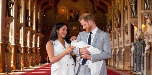 Der Name ist bekannt: So haben Meghan und Harry ihr Royal Baby genannt!
