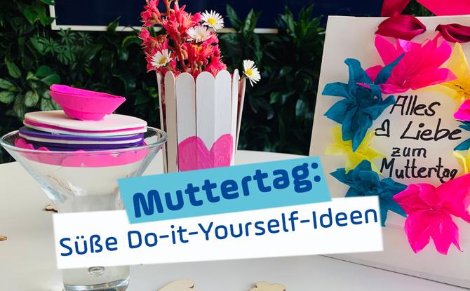 Muttertag steht vor der Tür: Süße DIY-Ideen für den 9. Mai