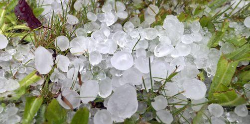 Gewitter, Starkregen, Hagel: So heftig waren die Unwetter am Pfingstmontag