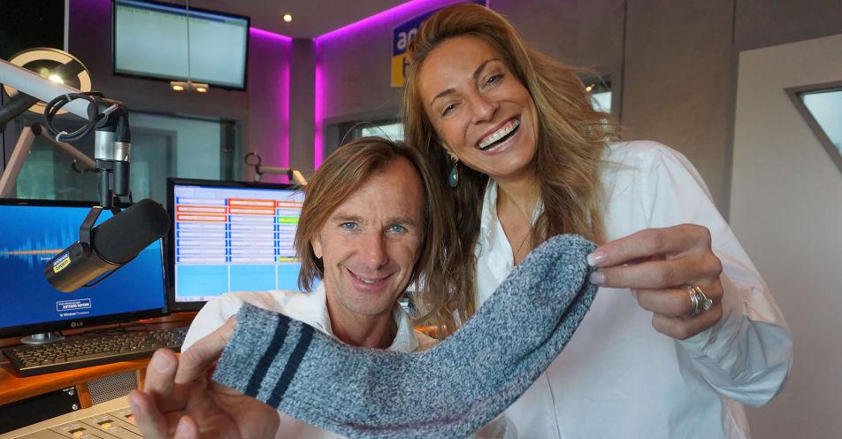 Nach Boris Becker Online-Auktion: Leikermoser versteigert Socke für guten Zweck