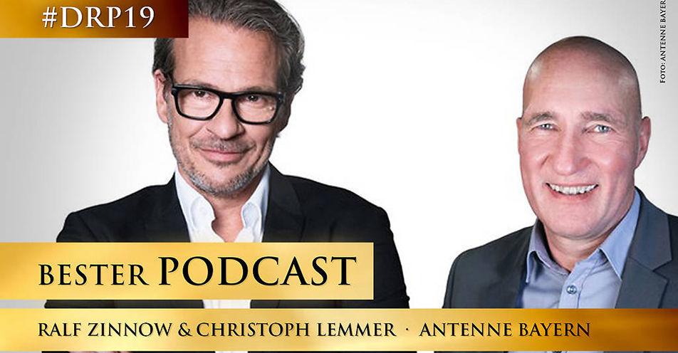 Bester Podcast: ANTENNE BAYERN mit dem Deutschen Radiopreis ausgezeichnet