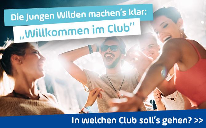 """ANTENNE BAYERN """"Willkommen im Club"""" - Abfeiern bis es hell wird!"""