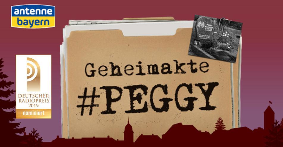 ANTENNE BAYERN-Podcast 'Geheimakte Peggy' für den Deutschen Radiopreis nominiert