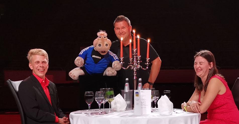 ANTENNE BAYERN schenkt Liebespaar aus Oberfranken einen unvergesslichen Abend mit Sebastian Reich & Amanda