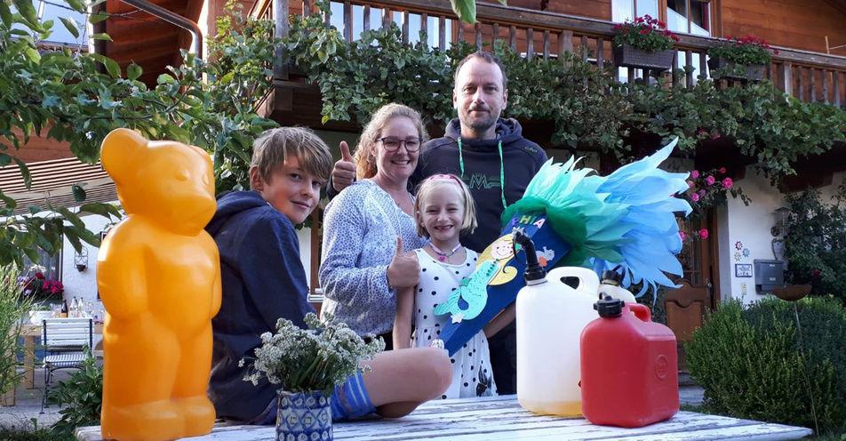 ANTENNE BAYERN heizt Traunsteiner Familie ein