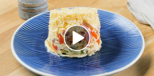 Herzhaftes Tassen-Omelette