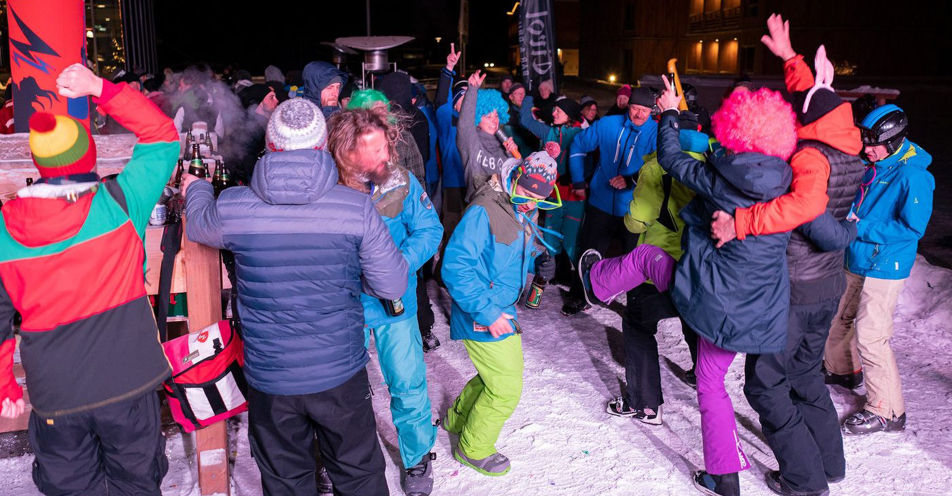 Rock the Mountain: Mit ROCK ANTENNE zur Ski-Tour