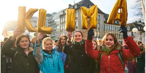 Auch Münchener Schüler beteiligt: Schwänzen für den Klimaschutz