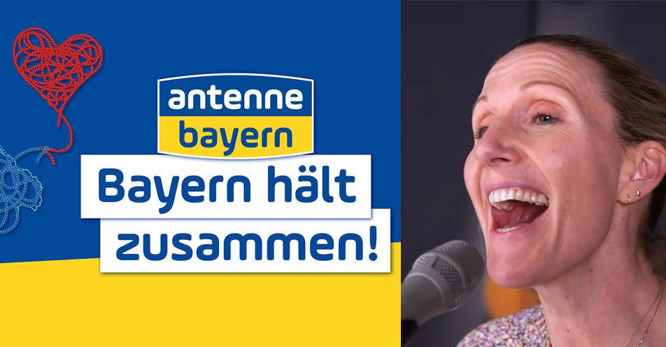 """""""Bayern hält zusammen!"""": ANTENNE BAYERN sagt Danke – mit der neuen Bayernhymne um 17 Uhr"""