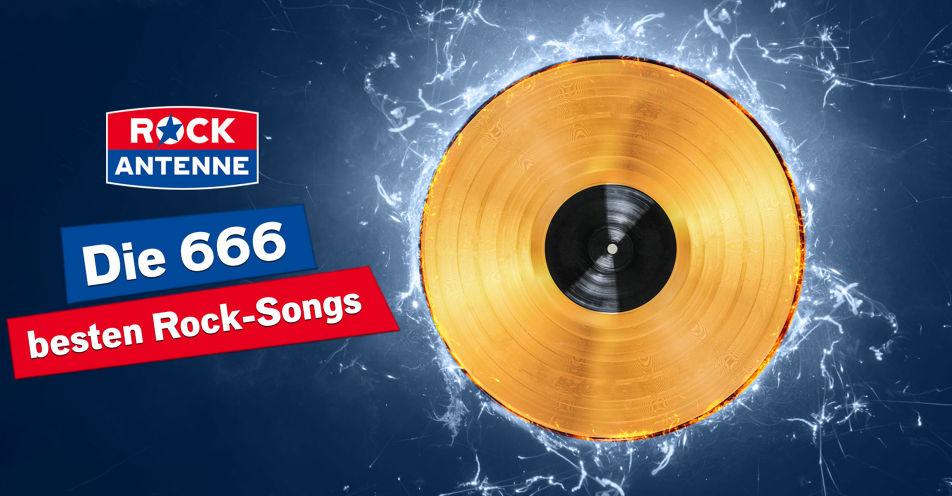 ROCK ANTENNE ermittelt die 666 besten Rock-Songs und knackt Streaming-Rekord