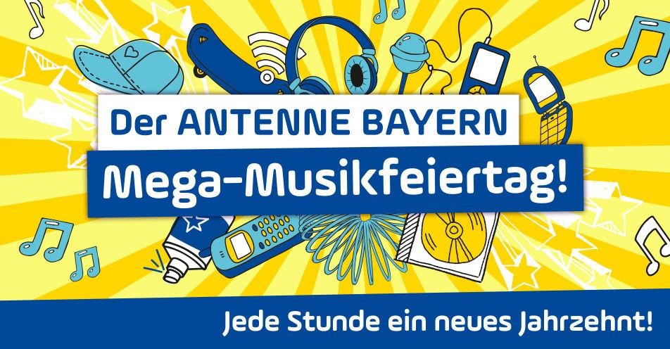 ANTENNE BAYERN startet mit Mega-Musikfeiertag in den Mai
