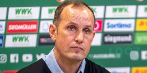 Verstoß gegen Corona-Auflagen: FC Augsburg muss auf Trainer Heiko Herrlich verzichten