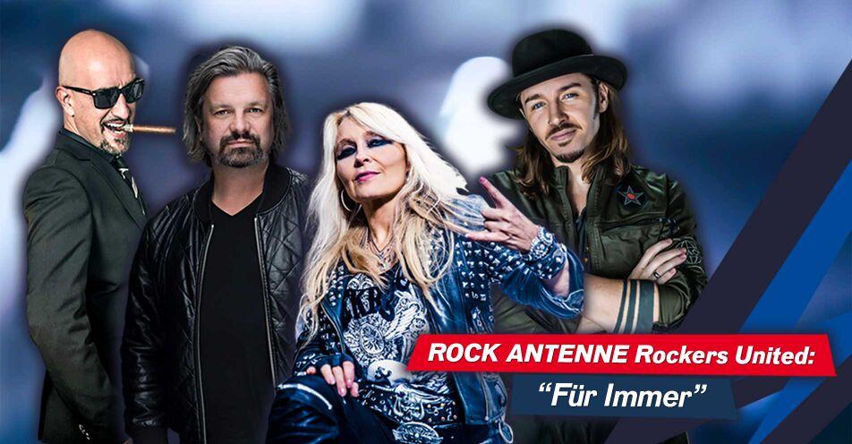 """Rockers United: ROCK ANTENNE Rockstar-Moderatoren veröffentlichen neue Version von """"Für Immer"""""""