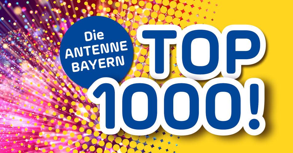 1.000 Hits und 10.000 Euro: Das Pfingstwochenende auf ANTENNE BAYERN
