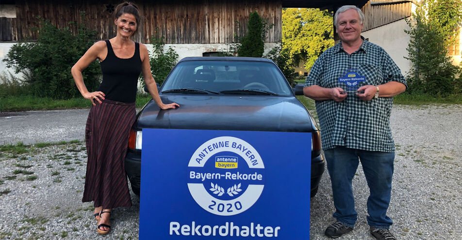 1.487.739 Kilometer auf dem Tacho: Erkheimer fährt Rekord-Auto