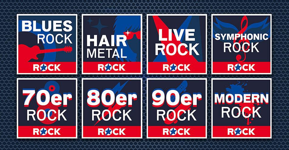 ROCK ANTENNE feuert aus allen Rohren: Neue Streams für Rockfans