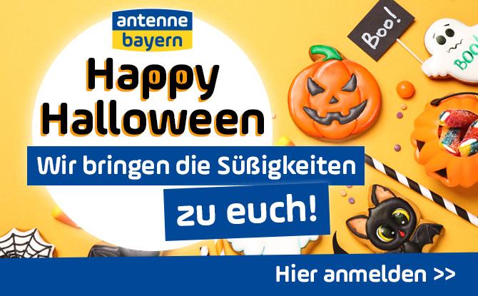 Happy Halloween mit ANTENNE BAYERN: Wir bringen die Süßigkeiten zu EUCH!
