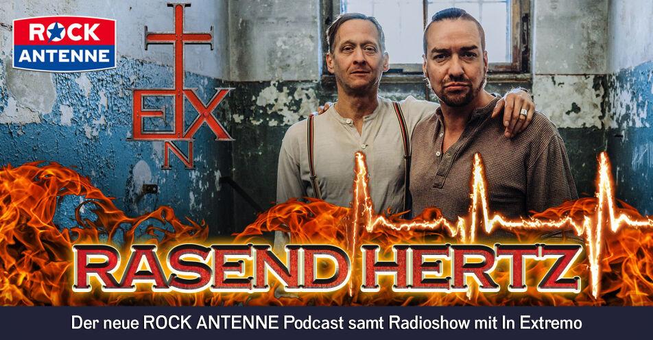 In Extremo erobern ROCK ANTENNE-Bühnen mit eigener Rockstarradioshow und Podcast ab Neujahr