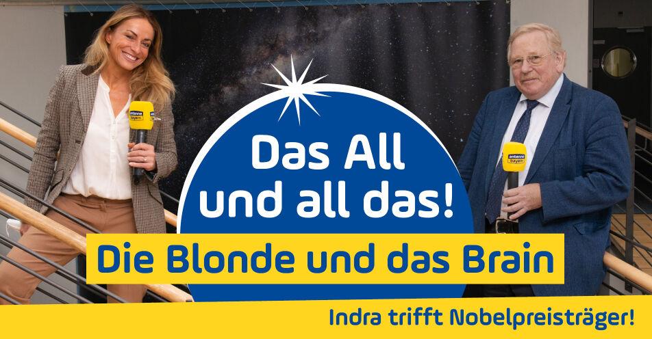 """""""Das All und all das! Die Blonde und das Brain"""": ANTENNE BAYERN launcht Podcast mit Nobelpreisträger"""
