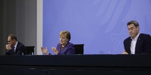 Merkel und Söder geben bekannt: Teil-Lockdown wird bis 10. Januar verlängert