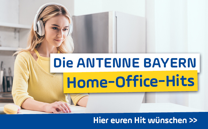 Die ANTENNE BAYERN Home-Office-Hits: Wünscht euch eure Lieblingshits!