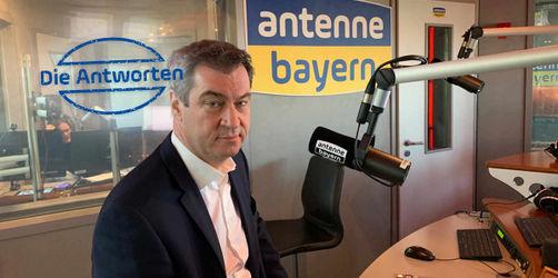 Alle ausführlichen Antworten: Markus Söder im ANTENNE BAYERN-Interview
