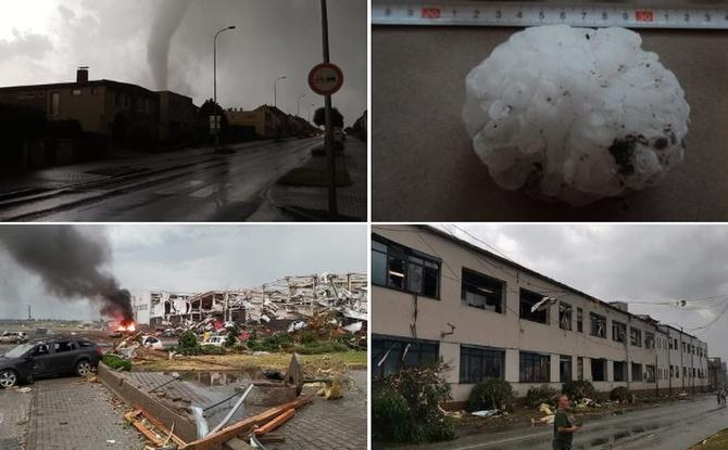 Schlimme Bilder aus Tschechien: Tornado verwüstet mehrere Dörfer