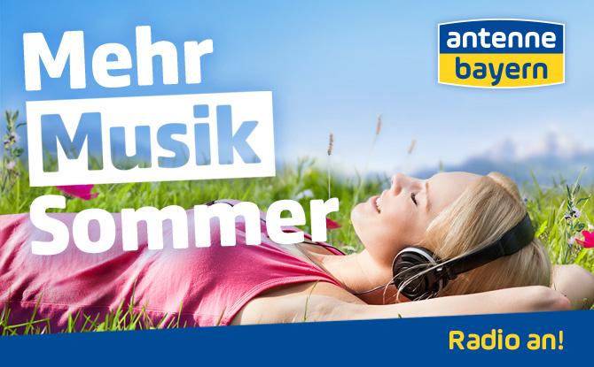 Der Mehr-Musik-Sommer auf ANTENNE BAYERN