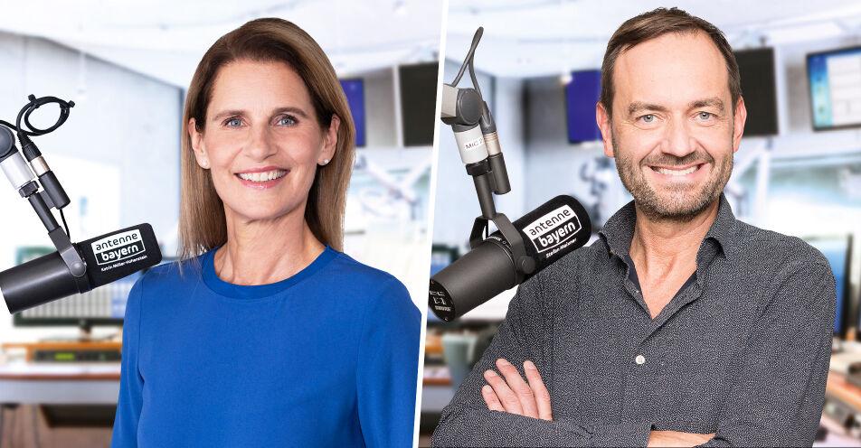 Das neue Wochenende auf ANTENNE BAYERN mit Katrin Müller-Hohenstein und Stefan Meixner