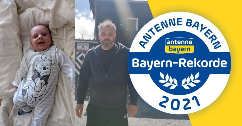 Knapp 50 Jahre Altersunterschied zwischen Geschwistern: Dreifach-Papa sichert sich Bayern-Rekord von ANTENNE BAYERN