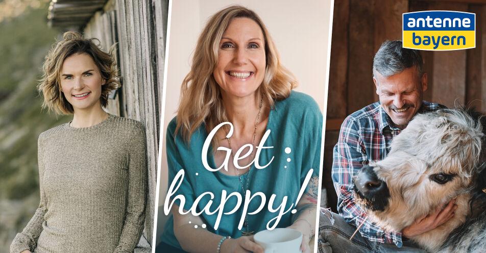 """Kathie Kleff läutet mit """"GET HAPPY!"""" die neue Staffel des ANTENNE BAYERN Achtsamkeits-Podcasts ein"""