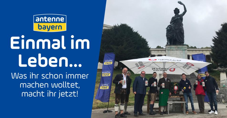 O'zapft is auf der Münchner Theresienwiese mit ANTENNE BAYERN: Dieters Traum geht in Erfüllung
