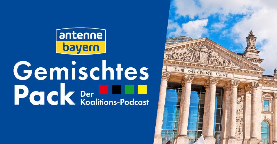 Gemischtes Pack. Der Koalitions-Podcast von ANTENNE BAYERN mit den Nachwuchsorganisationen der Parteien