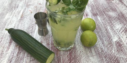 Green Gin Fizz