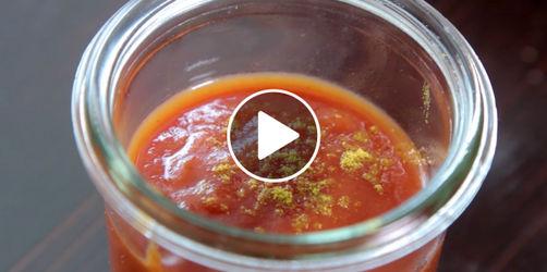 Trendige Tomaten-Grillsauce