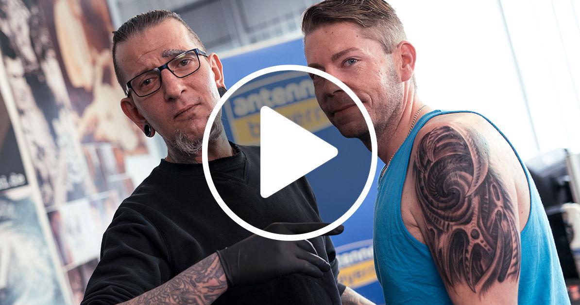 Live Stream Wir Verschönern Das Tattoo Von Hörer Alex Antenne Bayern