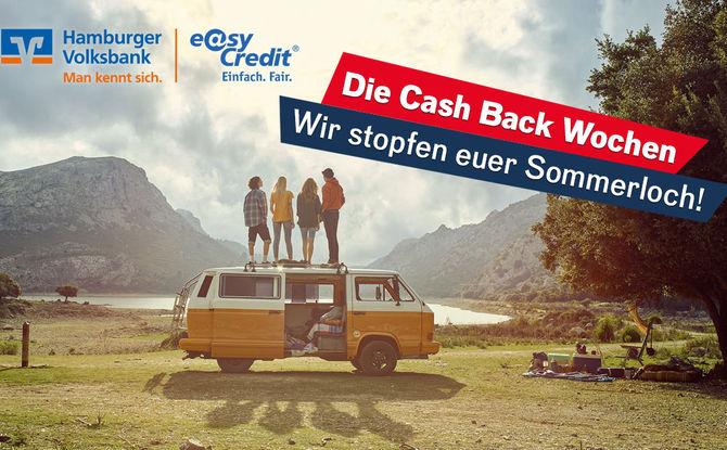 Die Cash Back-Wochen: Jetzt mitmachen!