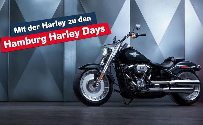 Mit der Harley zu den Hamburg Harley Days - wir laden euch ein!
