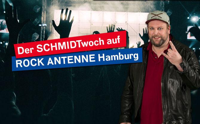Der SCHMIDTwoch auf ROCK ANTENNE Hamburg