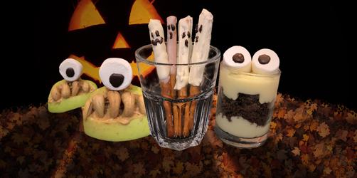 Gruselige Snacks für Halloween
