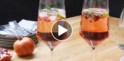 Granatapfel-Spritz